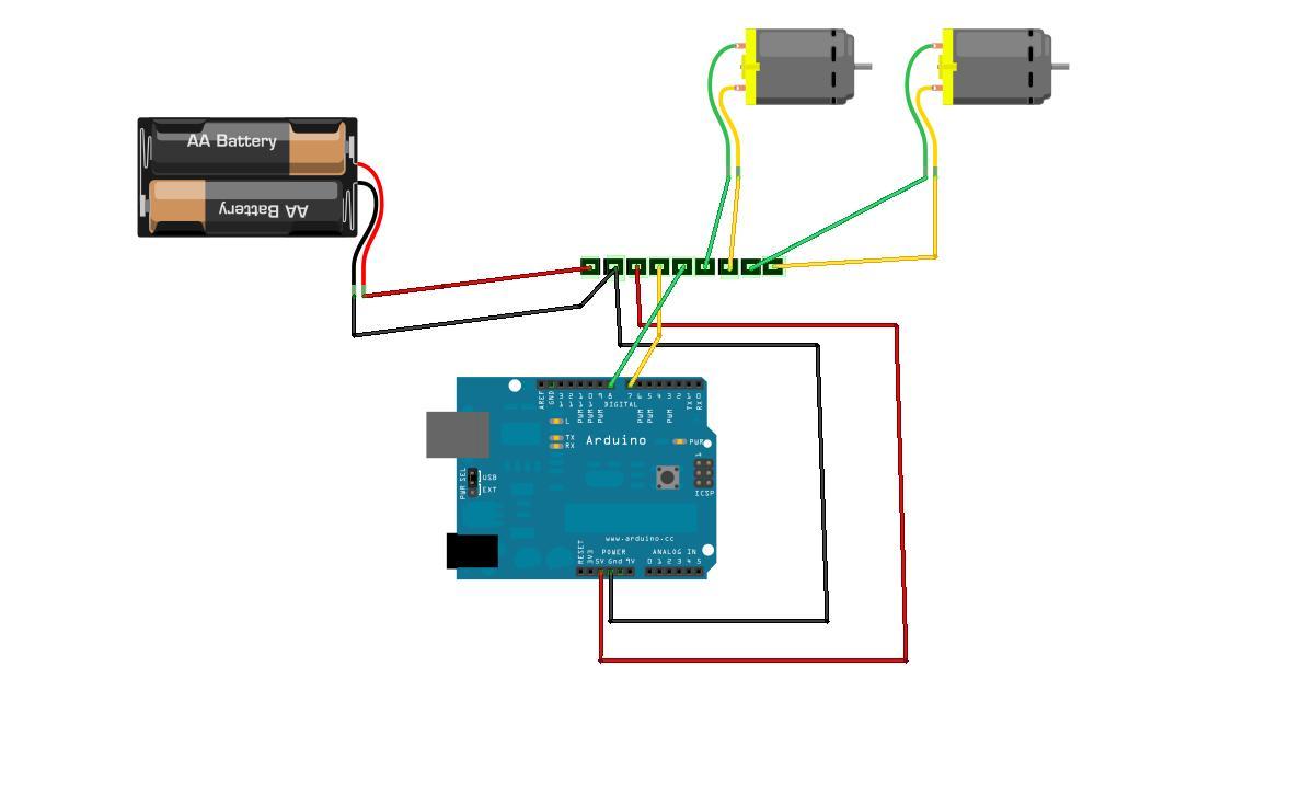 Arduino And Pololu Smc05a Motor Controller